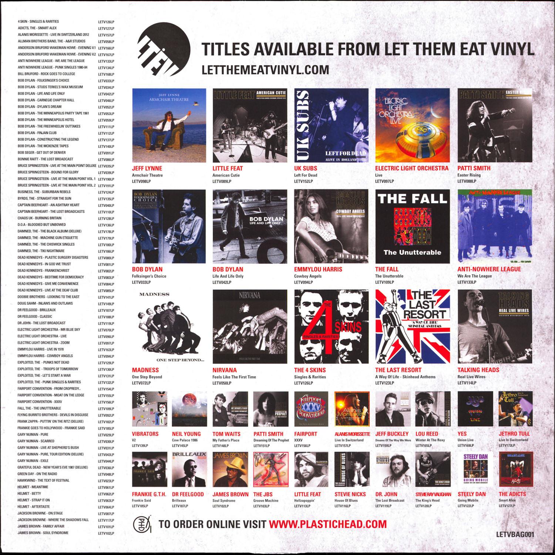 Let Them Eat Vinyl Wolf S Kompaktkiste