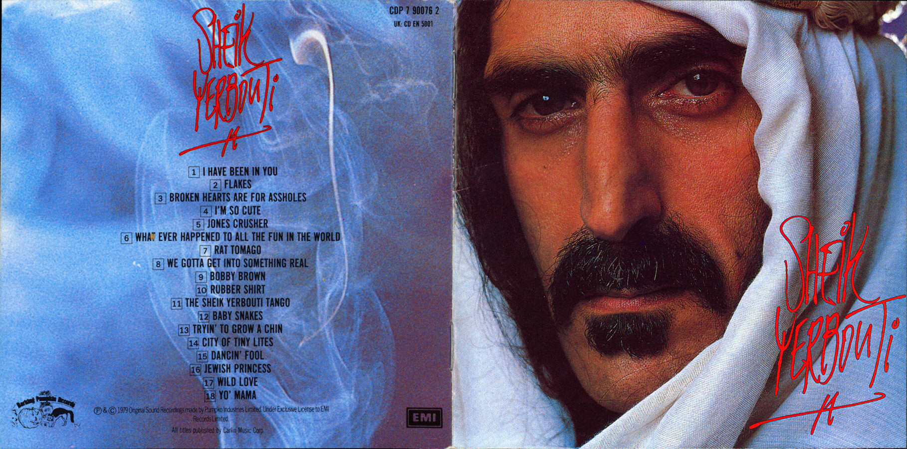 frank zappa official release 26 sheik yerbouti wolfs