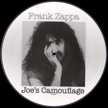 Frank Zappa Official Release 98 Joe S Camouflage Wolf