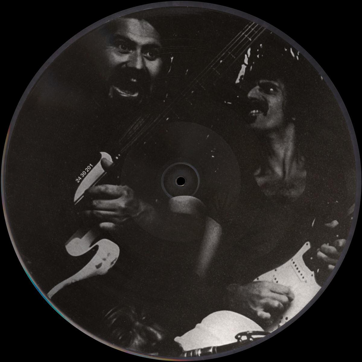Frank Zappa Official Release 98 Joe S Camouflage Wolf