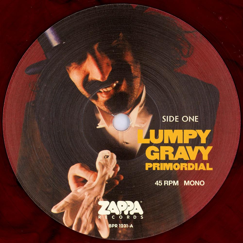 Frank Zappa Official Release 3 Lumpy Gravy Wolf S