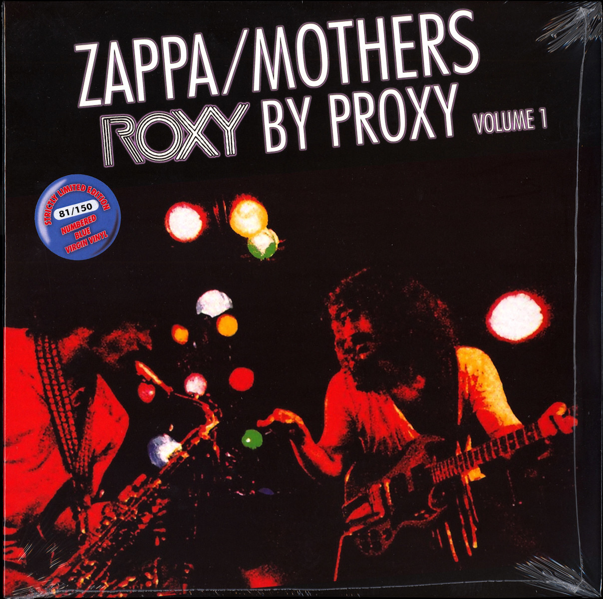 Frank Zappa Official Release 99 Roxy By Proxy Wolf S