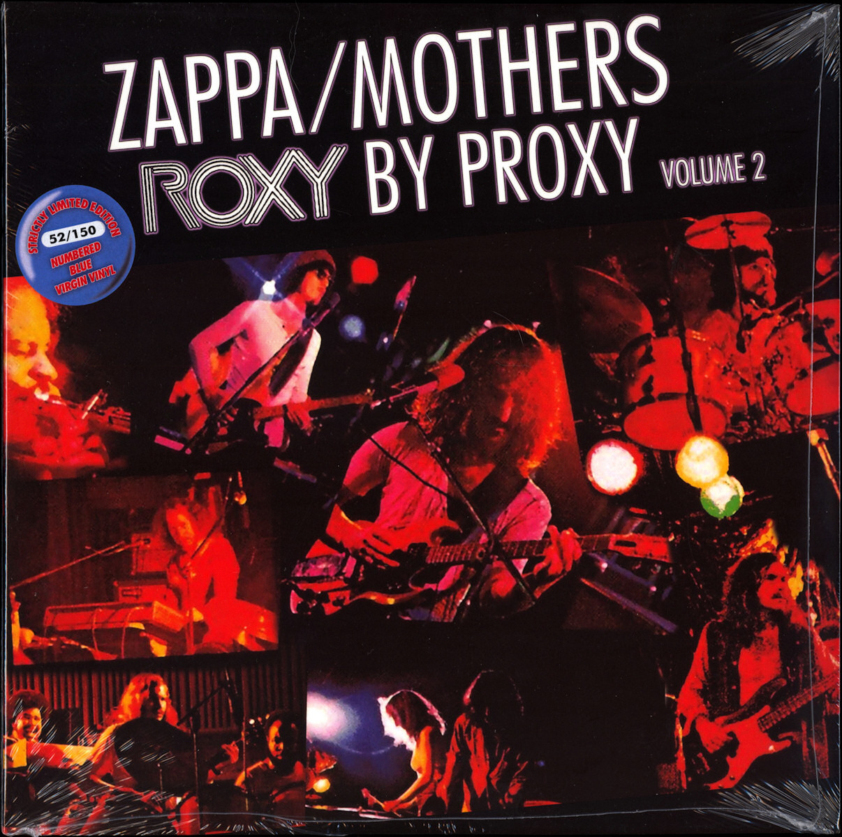 Frank Zappa Official Release 99 Roxy By Proxy Wolf S