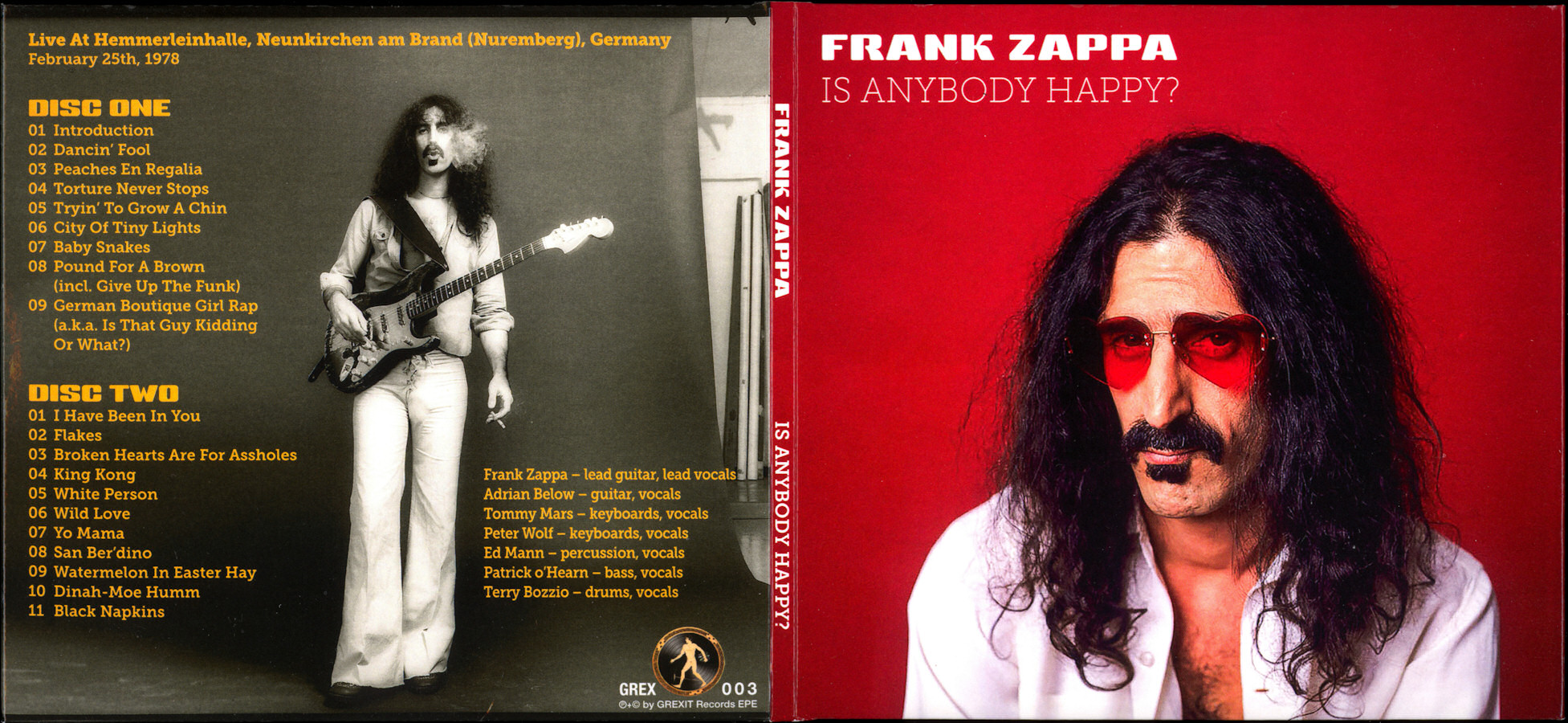 a biography of frank zappa the guitarist Frank zappa's 60-album oeuvre is an imposing body of work some of the records are better than freak out and the mothers' subsequent verve albums did much to establish the zappa mythology zappa really came into his own as a gonzo guitarist in the seventies the decade's inaugural year.
