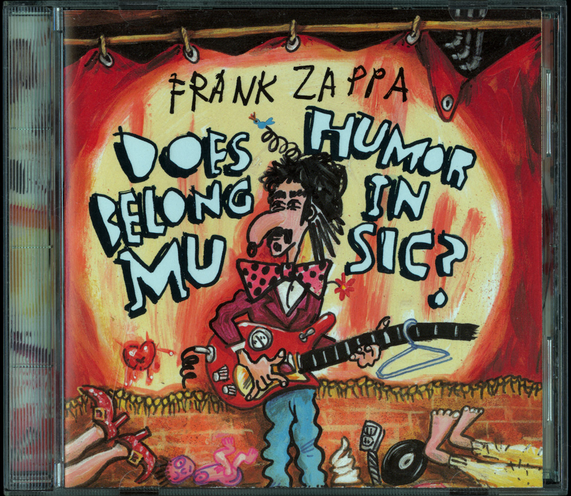 Frank Zappa Official Release 45 Does Humor Belong In