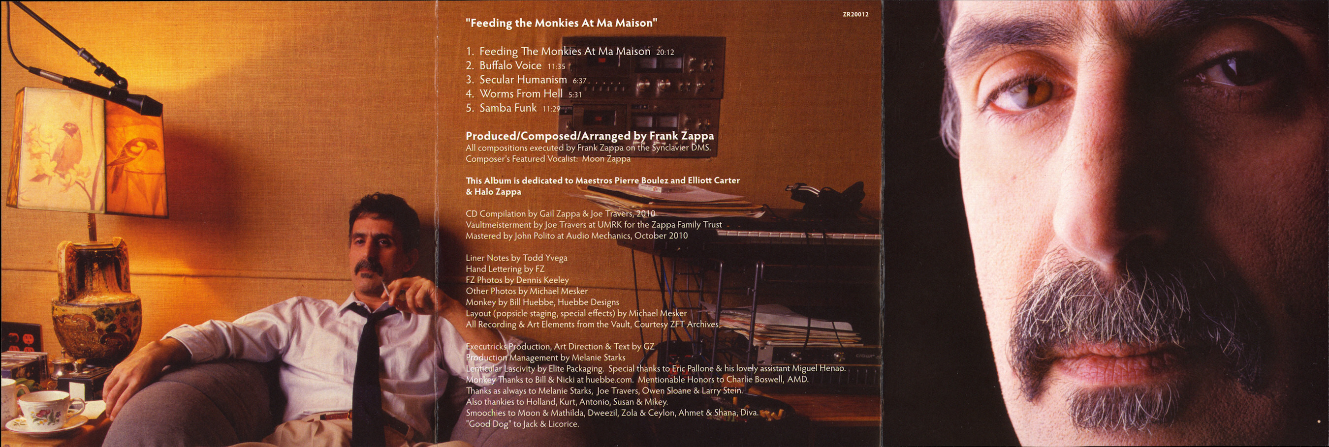 Frank Zappa Official Release 90 Feeding The Monkies At