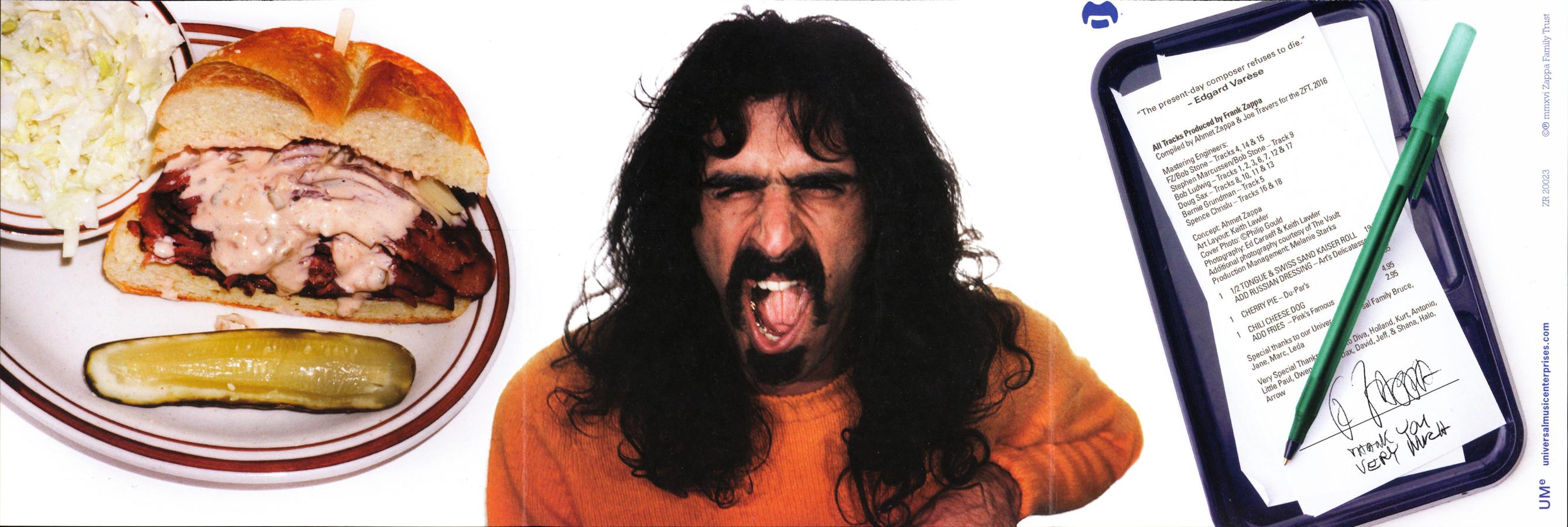 Frank Zappa Official Release 106 Zappatite Frank Zappa