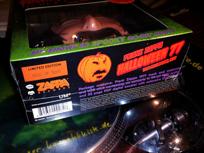 frank zappa: official release #110 halloween 77 @ wolf's